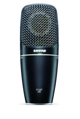 Shure PG27USB Condenser USB Microphone