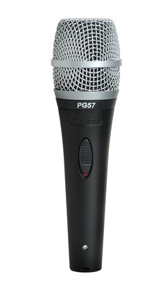 Shure PG57-XLR Vocal/Instrument Microphone