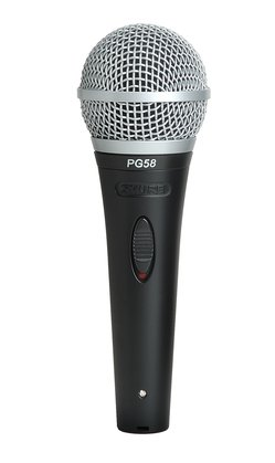 Shure PG58-XLR Dynamic Vocal Mic