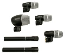 Shure PGDMK6<BR>6-Microphone Drum Microphone Kit