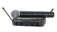 Shure PGX Handheld Wireless Microphone, PGX24/Beta58