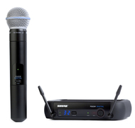 Shure PGX24/Beta58 Digital Wireless Microphone with Stand, Cable