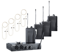 Shure PSM-200 Wireless In-Ear Monitors for Four Users