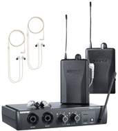 Shure PSM200 Wireless In-Ear Monitors for Two Users