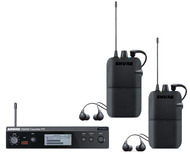 Shure PSM300 Wireless In-Ear Monitors, for Two Users