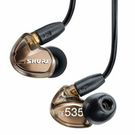 Shure SE535 Sound Isolating™ Earphones In Metallic Bronze