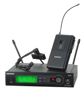 Shure SLX14/Beta98H Wireless Instrument System with Beta 98H Microphone