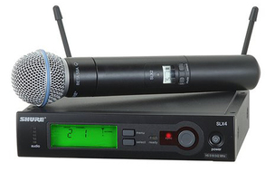 Shure SLX Beta 58-G4 Handheld Wireless Mic