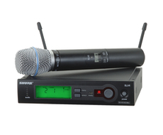 Shure SLX Beta87a<BR>Wireless Handheld Microphone