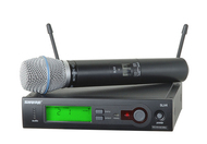 Shure SLX24/Beta87c Handheld Wireless Microphone