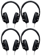 Shure SRH240a Headphones Four Pack