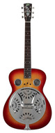 Regal RD-40V Roundneck Reso Guitar Cherry Sunburst with Case
