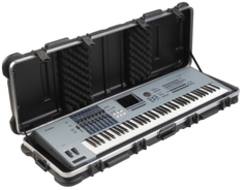 SKB ATA 76-Key Keyboard Case with Wheels