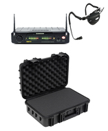 Samson Airline 77 Wireless  Fitness Headset Mic with SKB Waterproof Case