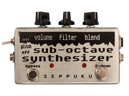 Seppuku Effects Sub Octave Synth Pedal