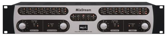 SPL Mix Dream <BR>16-in-2 Analog Summing Mixer