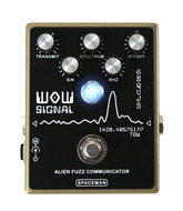 Spaceman WOW Signal Fuzz Pedal Gloss Gold Limited Edition