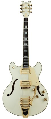 Schecter Corsair Ltd. Vintage White with Bigsby