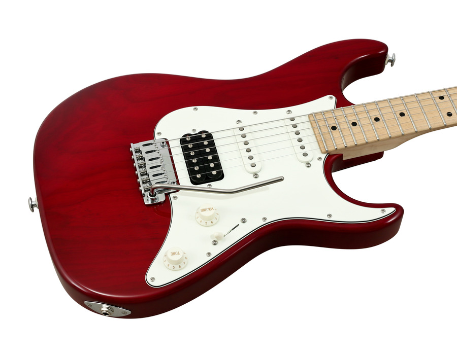 Suhr S2 Standard Pro Swamp Ash Trans Red Hss Rainbow Guitars