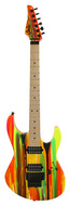 Suhr 80s Shred MkII Neon Drip Maple Fretboard