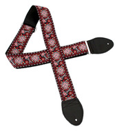 Souldier Hendrix Guitar Strap Black/Red