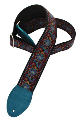Souldier Turquoise Hendrix Guitar Strap 