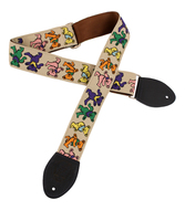 Souldier Grateful Dead Dancing Bears Guitar Strap</P>