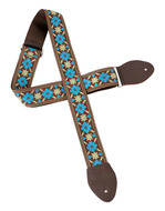 Souldier Tulip Guitar Strap Turquoise