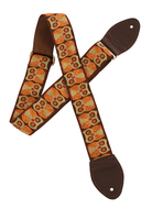 Souldier Guitar Strap Brown Owls