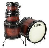 Tama Starclassic Bubinga 4pc Shell Pack In Natural Bubinga Burst