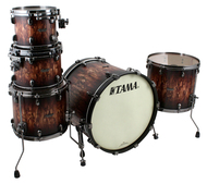 Tama Starclassic Maple 5pc Shell Pack in Molten Satin Brown Burst