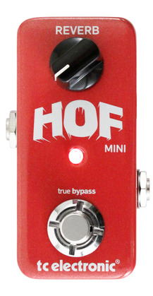 T.C. Electronic Hall of Fame Mini Reverb
