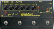 Tech 21 SansAmp Bass Driver Deluxe Preamp/DI<BR>w/Free DC2 Power Supply