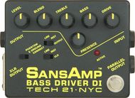 Tech 21 SansAmp Bass Driver DI/Preamp w/Free DC2 Power Supply