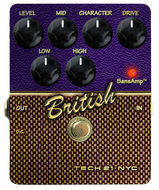 Tech 21 Sansamp British Character Series Pedal