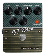 Tech 21 SansAmp VT Bass Character Series Pedal<BR>w/Free DC2 Power Supply