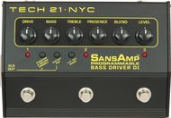 Tech 21 SansAmp Programmable Bass Driver DI/Preamp<BR>w/Free DC2 Power Supply