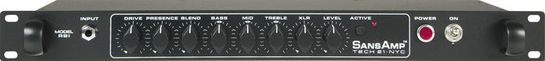 Tech 21 SansAmp RBI Rackmount Bass Driver/DI