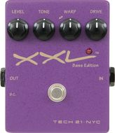 Tech 21 XXL-B Bass Overdrive/Warp Pedal<BR>w/Free DC2 Power Supply