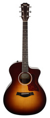 Taylor 214CE-SB Deluxe Grand Auditorium Acoustic Electric Tobacco Sunburst