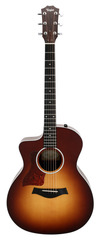 Taylor 214CE-SB Deluxe Left Hand Grand Auditorium Tobacco Sunburst