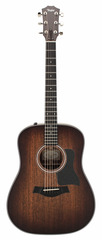 Taylor 320E-SEB Dreadnought Special Edition Shaded Edgeburst Acoustic Electric