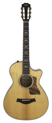 Taylor 2015 Demo 612CE 12 Fret Grand Concert Torrified Top Acoustic Electric