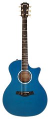 Taylor 614-CE Grand Auditorium Acoustic Electric Koi Blue