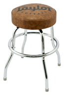 "Taylor Logo 24"" Brown Studio Guitar Stool"