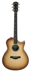 Taylor Custom 8047 Grand Symphony Macassar Ebony Acoustic Electric