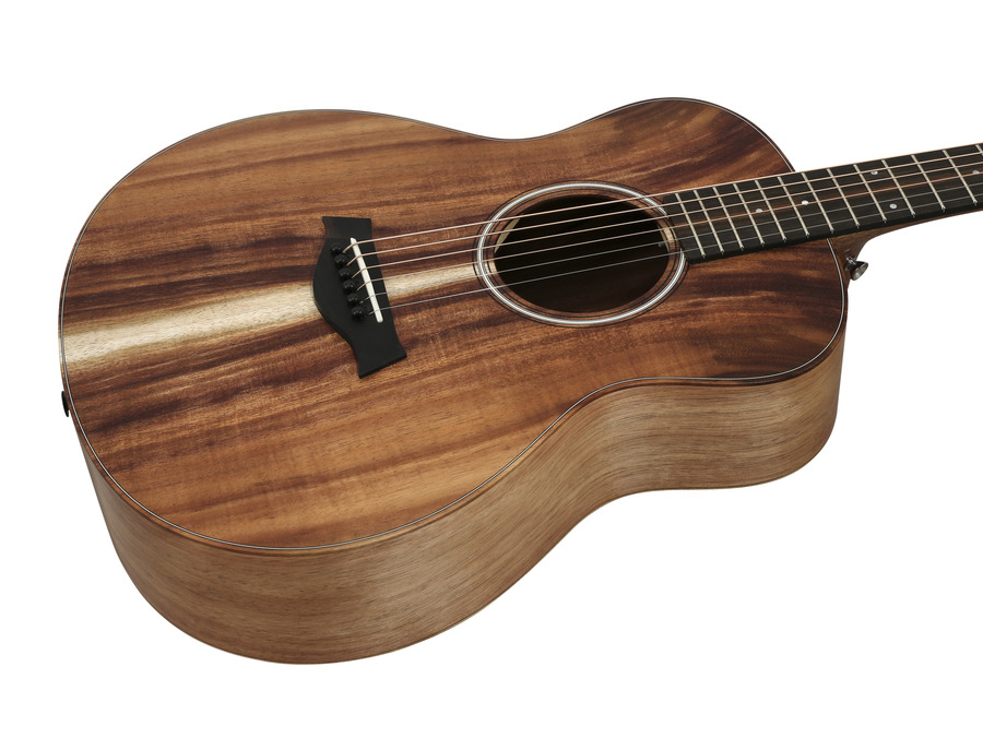 taylor gs mini e koa travel acoustic electric rainbow guitars. Black Bedroom Furniture Sets. Home Design Ideas