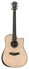 Taylor 2012 PS10CE Dreadnought Presentation Cocobolo AA Sitka