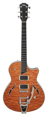 Pre-Owned Taylor T3B 2012 Quilted Maple Top w/Bigsby Orange