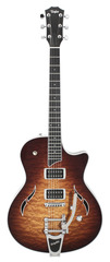 Taylor T3B Quilted Maple Top w/Bigsby Tobacco Sunburst